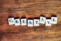 创造性的概念 库存照片