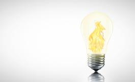 创造性的热的想法也许是您 免版税库存图片