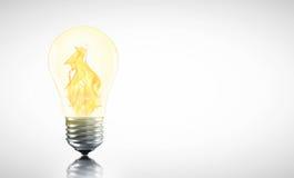 创造性的热的想法也许是您 免版税图库摄影