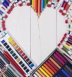 创造性的爱艺术 免版税库存照片