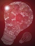 创造性的电灯泡 图库摄影