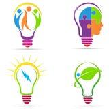 创造性的电灯泡 库存例证