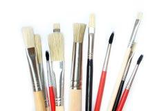 创造性的画笔 免版税库存照片