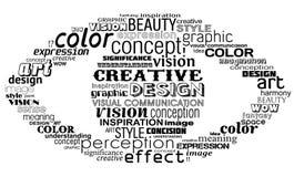 创造性的眼睛 免版税库存照片