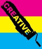 创造性的类型 库存照片