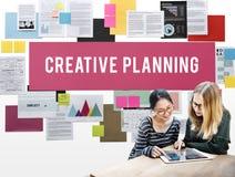 创造性的计划过程评估想法洞察概念 免版税库存图片