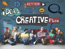 创造性的设计创新启发概念 免版税图库摄影