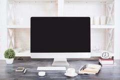 创造性的设计师工作场所 免版税图库摄影