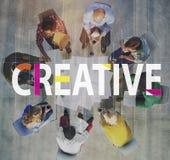 创造性的设计想法想象力创新概念 免版税库存图片