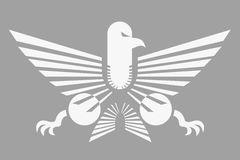 创造性的设计老鹰 免版税图库摄影