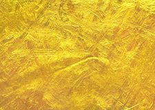 创造性的豪华叶子金箔纹理 免版税库存照片