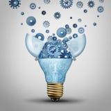 创造性的通信解答 免版税图库摄影