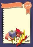 创造性的金钱模板飞行物小册子传染媒介纸设计模板 库存照片