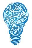 创造性的闪亮指示 免版税库存照片