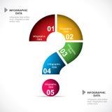创造性的事务Infographics 免版税库存照片