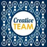创造性的队设计 库存照片