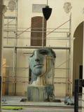 创造性的雕塑在罗马 免版税库存照片