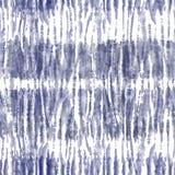 创造性的项目的手工制造无缝的领带染料纹理样式 皇族释放例证