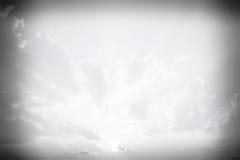 创造性的项目的黑白天空梯度 免版税库存图片
