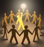 创造性的领导 免版税库存图片