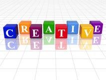创造性的颜色 免版税库存照片