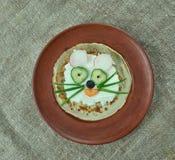 创造性的食物概念 库存图片