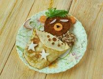 创造性的食物概念 库存照片