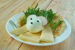 创造性的食物概念 图库摄影