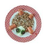 创造性的食物概念 免版税库存照片