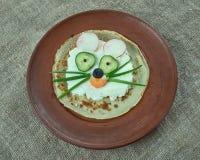 创造性的食物概念 免版税库存图片