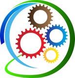 创造性的齿轮 库存例证