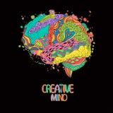 创造性的头脑 向量例证