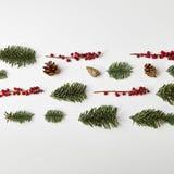 创造性背景的圣诞节 免版税库存照片