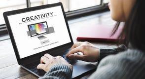 创造性能力想法想象力创新概念 库存照片
