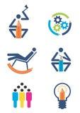 创造性设计图标 免版税图库摄影