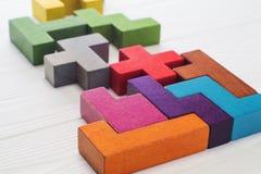 创造性,逻辑思维或解决问题的概念 免版税图库摄影