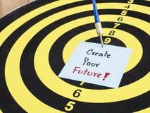 创造您的未来1 免版税库存照片