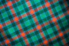 创造背景的方格的苏格兰织品的绿色样式 免版税图库摄影