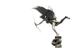 删去雕象在皮卡迪利广场,伦敦 库存照片