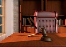 判断办公室 免版税图库摄影