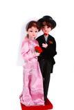 判断婚姻 免版税图库摄影