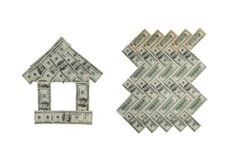 判断货币 免版税库存图片