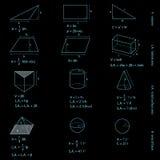 判断配方几何 向量例证