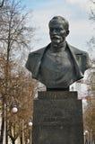 费利克斯・埃德蒙多维奇・捷尔任斯基纪念碑在米斯克,白俄罗斯 免版税图库摄影