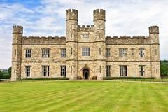 利兹中世纪城堡借的,英国,英国 免版税库存图片