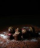 利口酒巧克力II 免版税库存照片