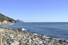 利古里亚海 免版税图库摄影