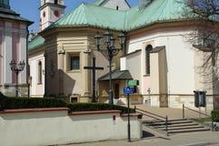 维利奇卡,圣Clement教会  库存图片