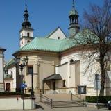 维利奇卡,圣Clement教会  免版税库存照片
