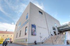 利奥波德博物馆,维也纳 免版税图库摄影